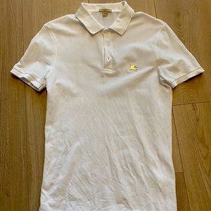 Burberry Brit Solid White Polo